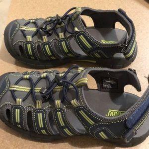 Size 2 boys Khombu sandals